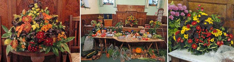 Cropton Methodist Chapel Harvest Festival 2013