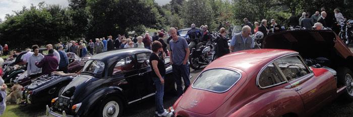 Vintage Rally - Village Hall field - 2013