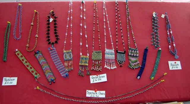 val barnaby studio cropton beadwork amulets