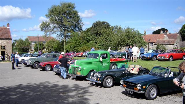 cropton vintage car rally 2010