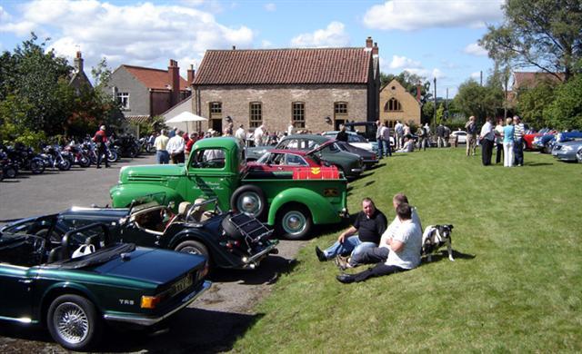 cropton village hall car rally 2010