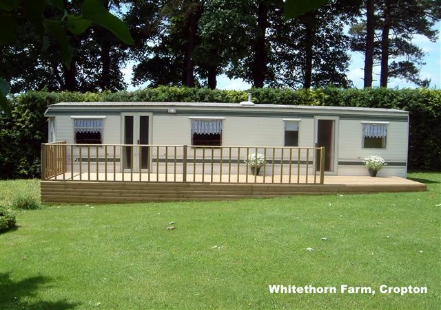 whitethorn farm luxury caravan sleeps 6 near cropton