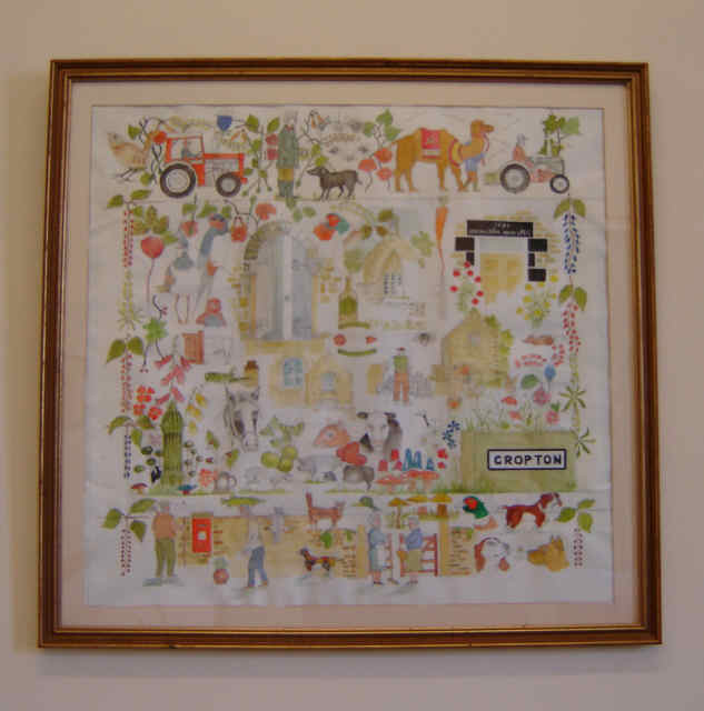 the cropton montage painting by richard peacock