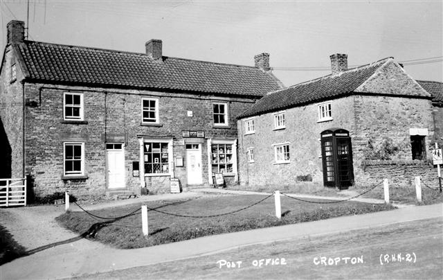 cropton post office and village store photo from around 1960