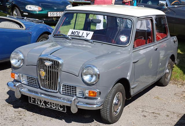 molly at cropton vintage car rally
