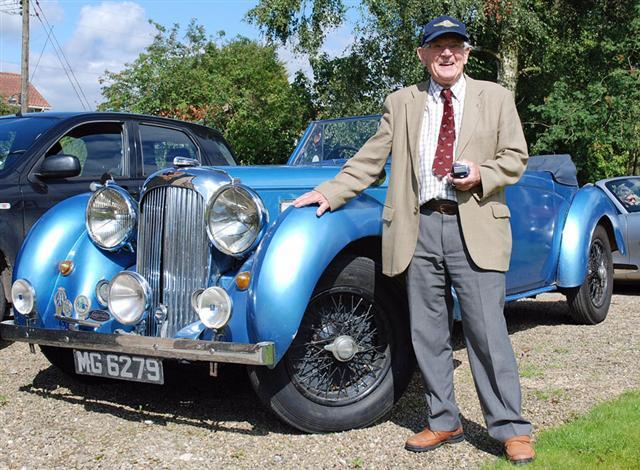 cropton vintage car rally john turner
