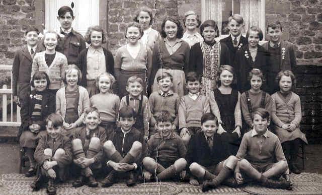 cropton school group photo 1953
