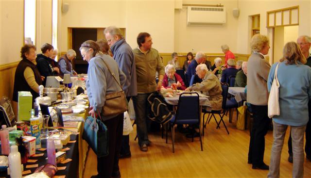 spring fair at cropton village hall in 2009