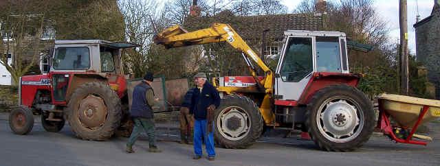 cropton tractor rescue