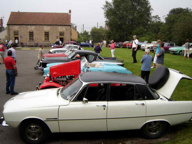 motor car rally at cropton 2008