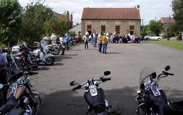 cropton rally motorbikes in 2009
