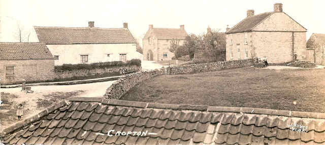 old photo near cropton chestnut tree