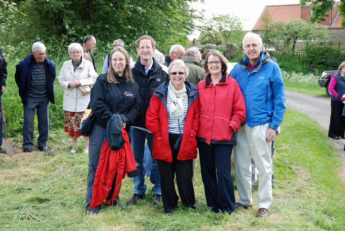 Cropton Villagers celebrating the Queen's Diamond Jubilee