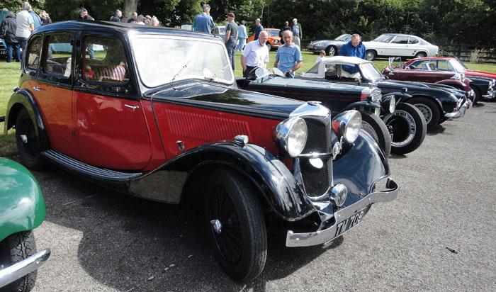 Cropton Rally 2013 - Vintage motor cars