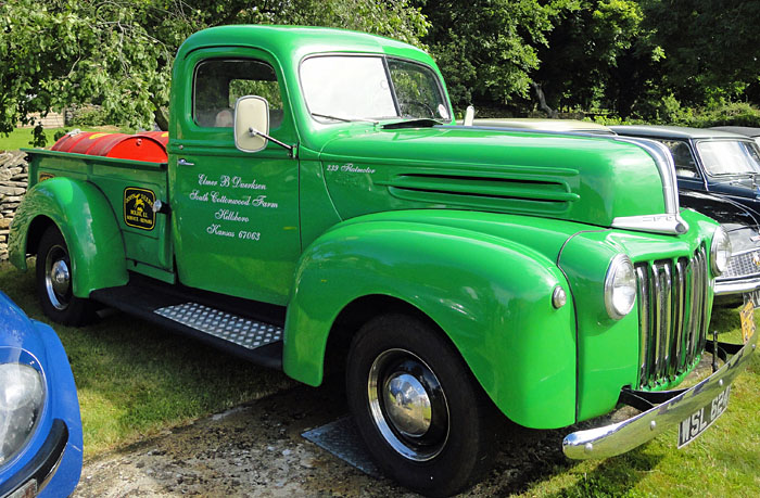Vintage Truck at Cropton Car & Motorcycle Rally