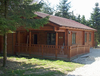 Millies Lodge at Sycamore Farm Lodges Cropton near Pickering North Yorkshire