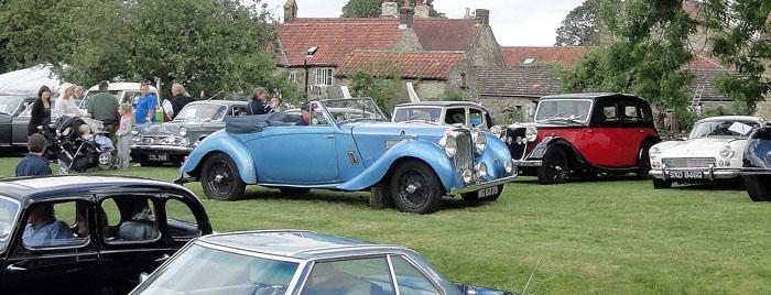 Morgan Car at Cropton Vintage Rally 2014