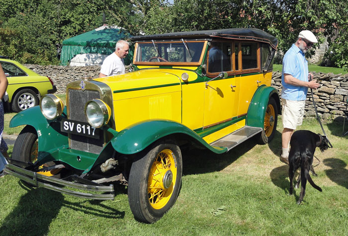 Vintage vehicle at Cropton Car Rally 2015