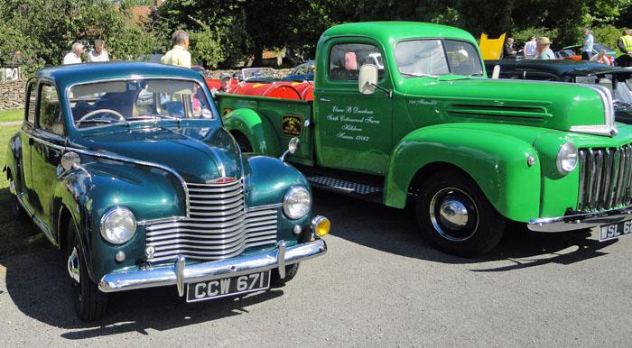 Vintage vehicles at Cropton Rally 2016