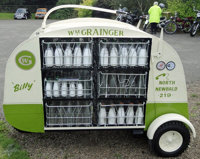 Cropton Vintage Car and Motorcycle Rally 2017 - Billy The Milk Float