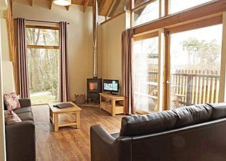 Interior of Golden Oak 3 Lodge ( Ref LP3805 ) at Keldy Holiday Lodges near Pickering