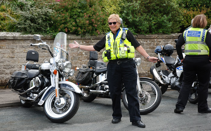 Community Support Officers to the event at Cropton Vintage Rally 2018