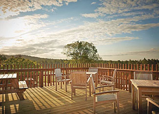 Cafe at Cropton Lodges - Holiday accommodation near Pickering North Yorkshire